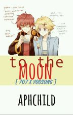 to the moon  》 yooseven / Yoosung X 707 by aphchild