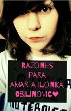 Razones para amar a Ilonka Obilinovic by Drarry_Lapidot
