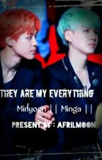 They are my everything @ Minyoon by jimin_yoongi8895