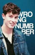 wrong number;SHAWN MENDES by honestdolans