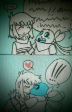 El Amor Blueberry x Frisk by satanas101