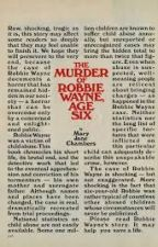 The Murder Of Robbie Wayne, Age Six✔(Complete) by DeltaWolfFelan
