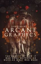 Arcane Graphics (a graphics shop) by senseikiwi
