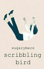 Scribbling Bird by sugarymars