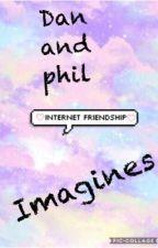 Dan and Phil imagines by jobeanjokingly