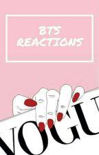 reakcje 'bts by Alienek10