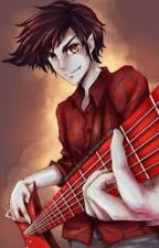 Mi rebelde vampirucho~💜 ( Marshall lee y tu ) by una-chica-kawai