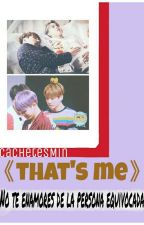That's me (two shot JiKook) by CachetesMin