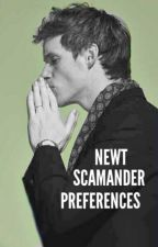 Newt Scamander Preferences by UGottaLoveDraco