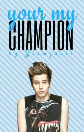 Your My Champion // Cake AU by ziamzouis