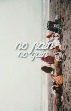 no pain no gain // group texting |2| by kylieszquad