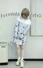 Accounts rates☄ [OPEN] by -sugxrkitten
