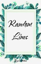 RANDOM LINES  by kvictorious