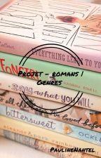 Projet - romans | Genres by PaulineNantel