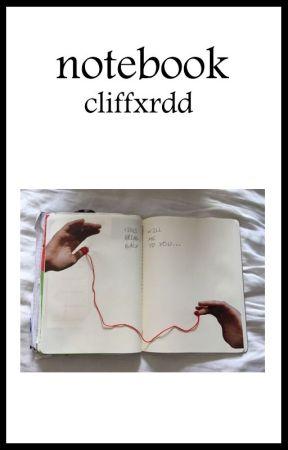 Notebook • Frerard by cliffxrdd