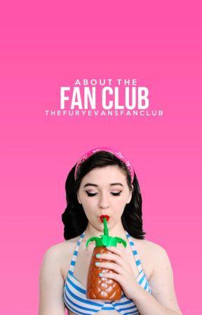 About The Fan Club by TheFuryEvansFanClub