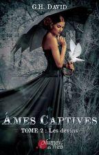 Âmes captives tome 2 Les Devins (Sous contrat aux éditions Plumes du Web) by GenyHDavid