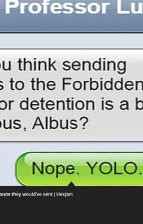 If harry potter could chat by stephanieei