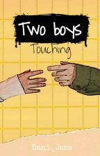 Two boys touching ≈ «y.m»  by Dani_Jess