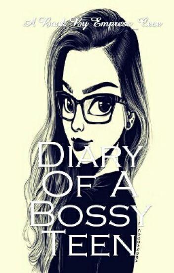 Bossy teen girl