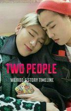 둘 사람  [ two people ] by weirboo