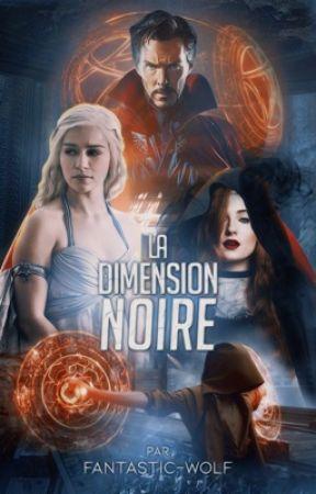 La Dimension Noire | Docteur Strange by fantastic-wolf