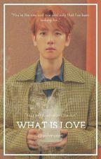 What is love ✾ Chanbaek by Kookieta_