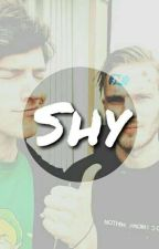Shy (kickthepewdie) by queenlouehh