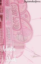 Admin Book by itsmeluciferxx