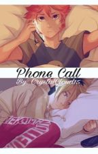 Phone call; KenHina  by CrystalCloud15