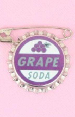 Grape Soda by astralpixie