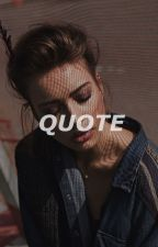 Quote & Answer ↻ rants by gothichstyles
