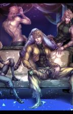 Dio x Reader x Jonathan by SalazarCherryBlossom