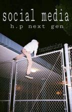 social media // h.p next gen by tearsandviolets