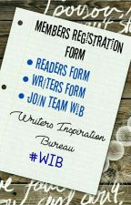 Members Registration Form  by WritersInspiration8
