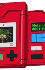 Alolan Pokedex: 1-151 by DTerra17