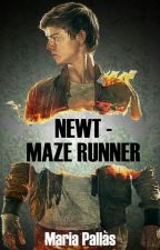 Newt - Maze runner   (ATURAT) by maria_pallas_2003