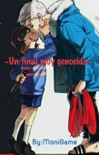 Chara X Sans/ Shara ~Un Final Muy Genocida~ by MoniGamer0