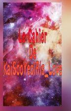 Mon Cahier d'une Ecrivaine  Qui /Se/ Fait Chier(Idées, Projets) by KaiSooYeolRis_Love