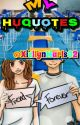 My HuQoutes by XiellynMarls02