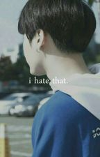 I hate that. »「 Yoonmin」 by fvckhoseok