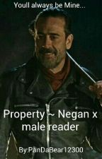 Property ~ Negan x male reader  by PanDaBear12300