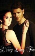 vampire diaries:klaus and Elena by ashmarie1999