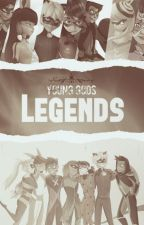 Young Gods: Legends by theladycatt