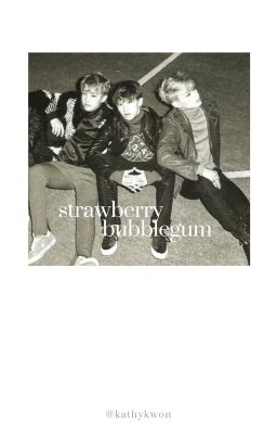 strawberry bubblegum   Junhao   Soonyoung