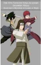 The Five Nations Ninja Academy Gaara x Reader Naruto Modern School world by WriterJ13