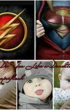 Você gosta de donults ? Flash e supergirl  by lemimamamagi