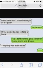 FUNNY TEXTS/TEXT FAILS  by cookie11110000