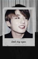 【 look my eyes 】 # k.th × p.jm『 ita 』 by dooly02