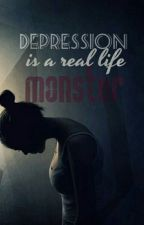 Depression is a real life monster  by TheTimeWord